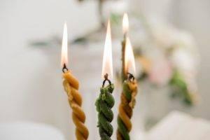 Скрутка свечей на чистку