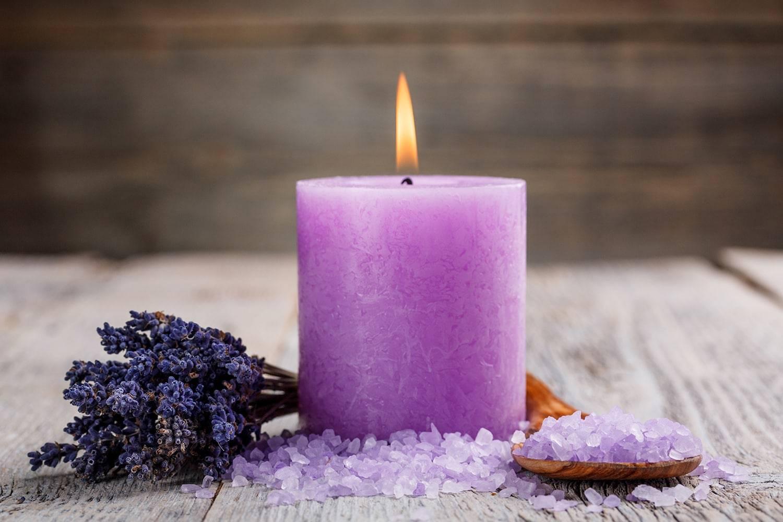 Фиолетовая свеча в магии