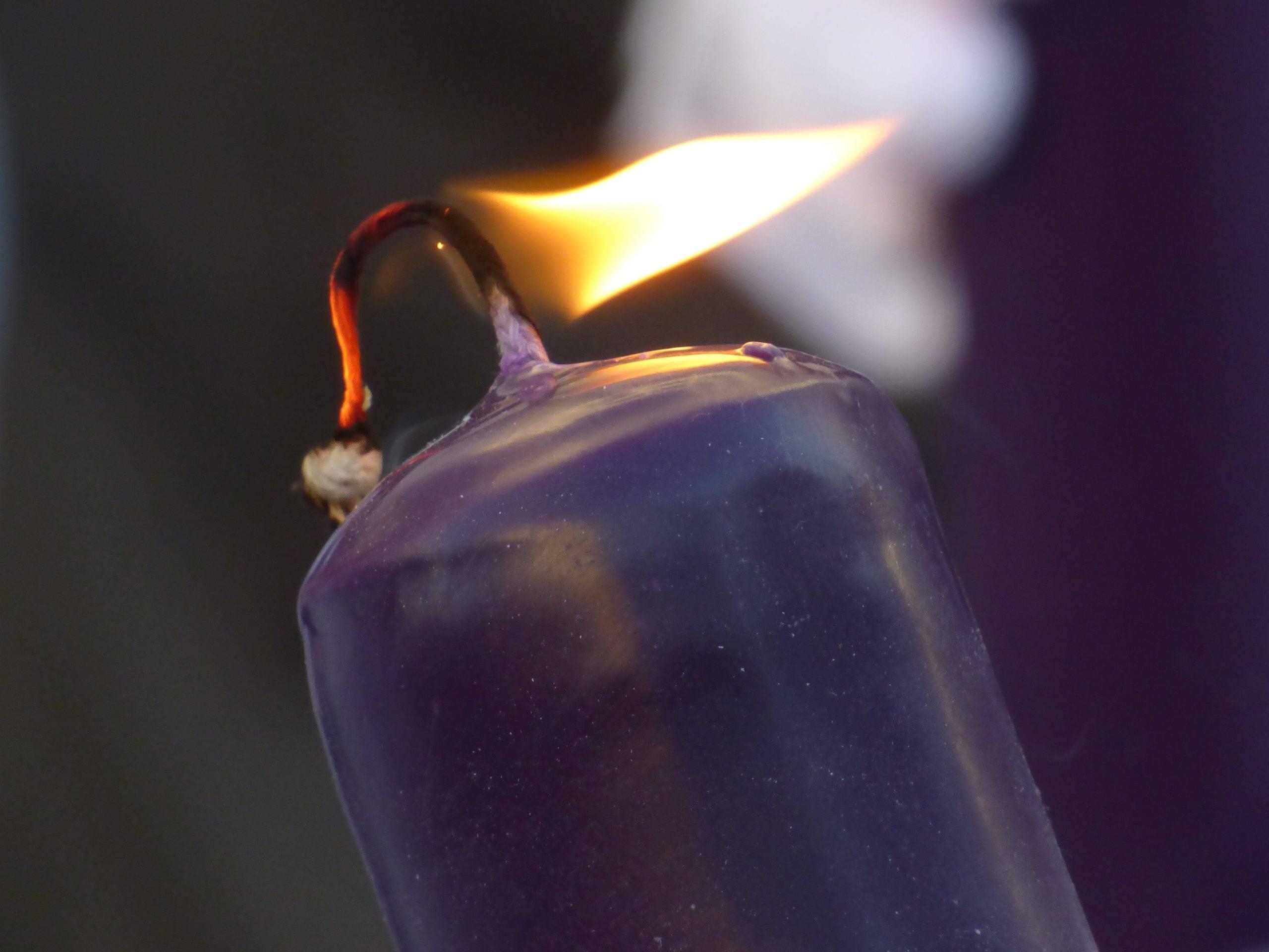 Нагар на свечах