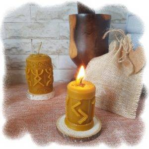 Свеча очищает энергетику