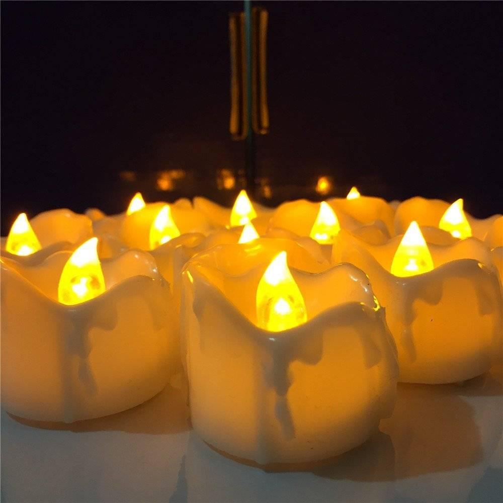 Жёлтые свечи