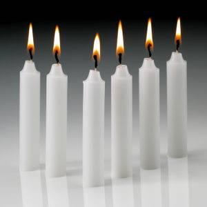 Значение белых свечей