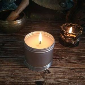 Соевые свечи время горения