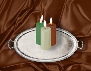 Заговор свечами на удачу на три свечи