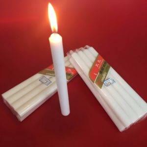 Время горения парафиновой свечи
