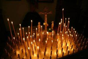 Запах церковных свечей