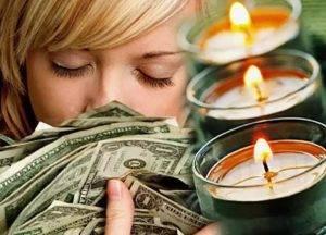 Заговор свечами на удачу