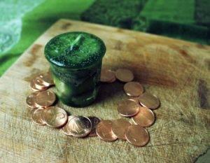 Заговор на зеленую свечу на удачу