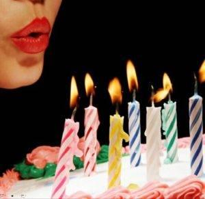 свечи торт