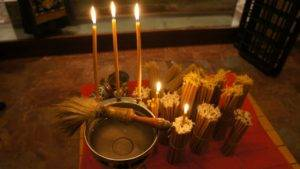 Сретенские свечи
