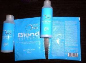 порошковой краски для волос