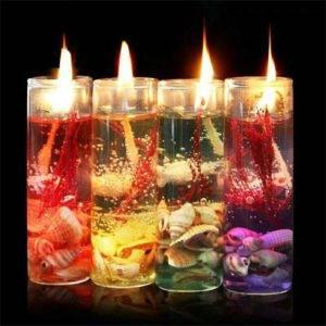 Свечи своими руками прозрачные ароматические