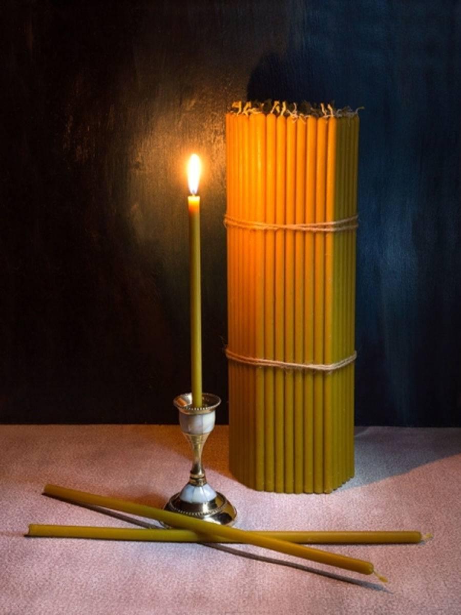 Цвета церковных свечей какие