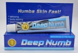 Крем Deep Numb