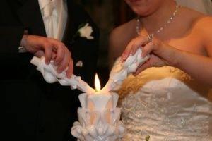 """Свечи для церемонии венчания """"Вместе навсегда"""""""