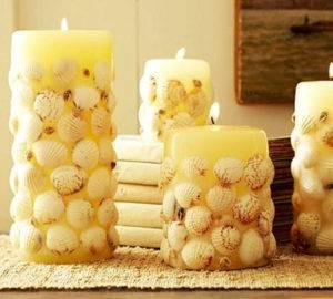 Сделать свечу из старых свечей