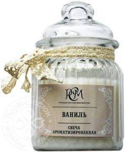 Свеча с ванилью отзыв