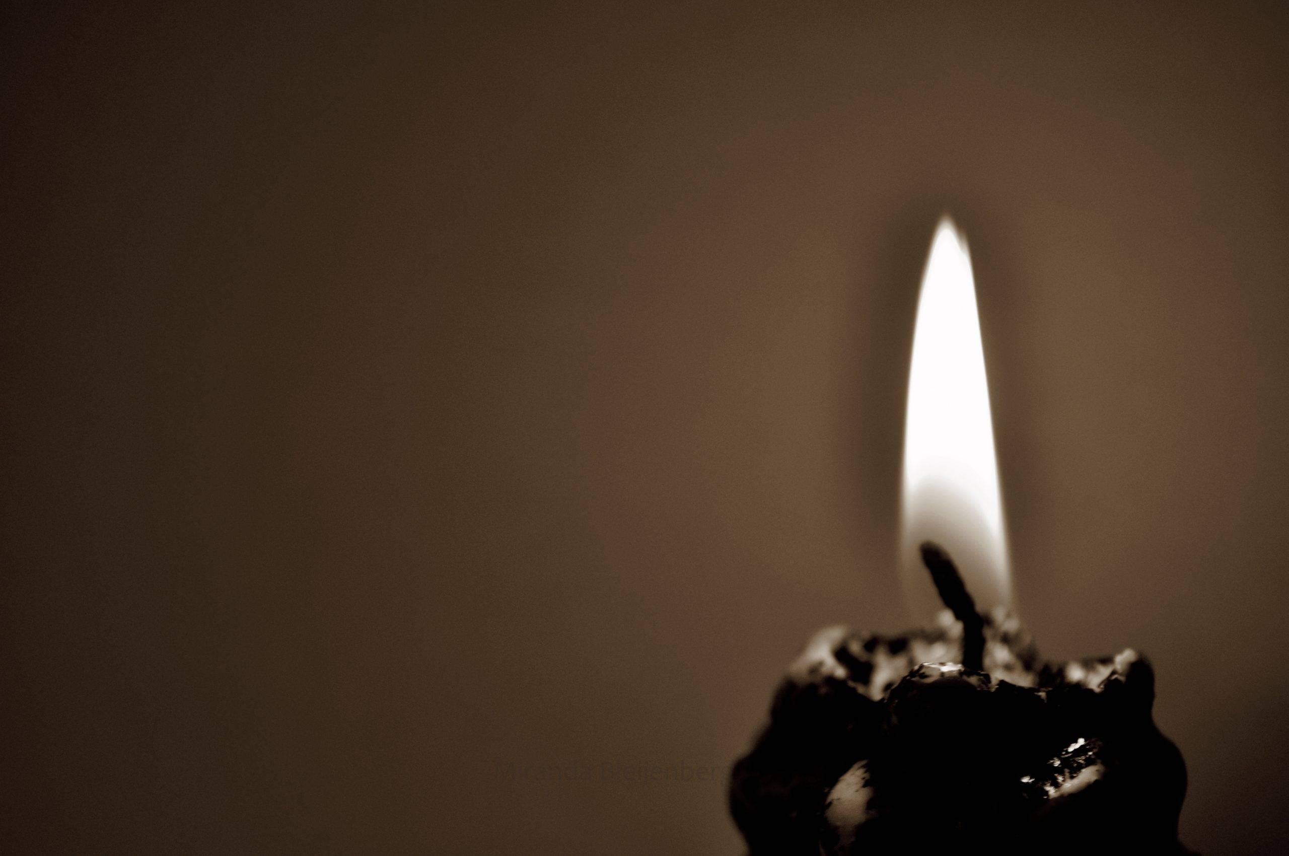 Черное пламя свечи