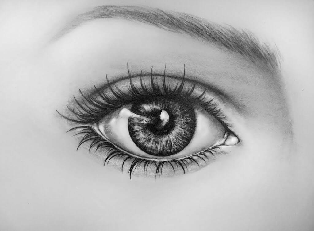 Глаз на воске