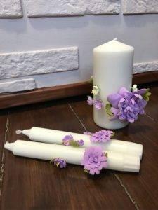 Свадебная свеча вместе навсегда