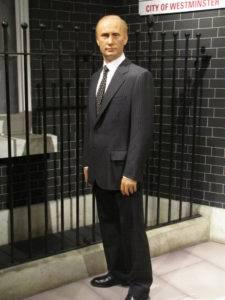 Лондонская восковая фигура Путина