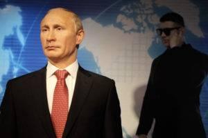 """Восковой Путин в музее восковых фигур """"Дежавю"""" Сочи"""