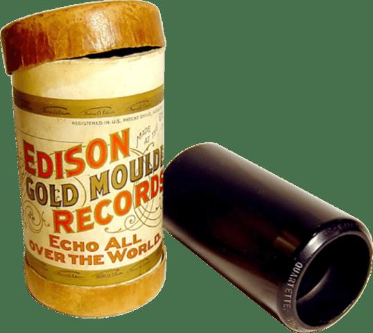 Восковой цилиндр для записи звука
